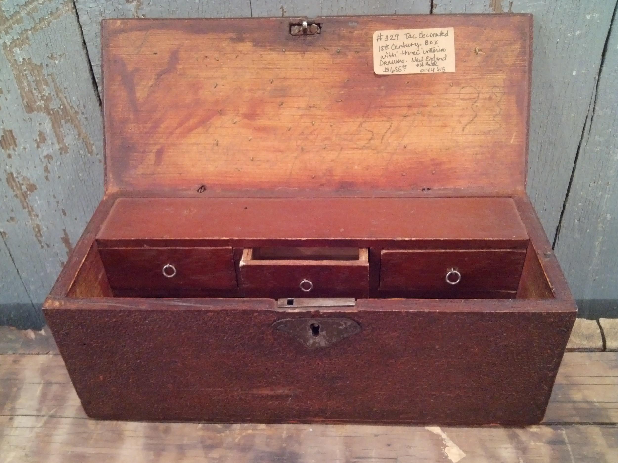 Document box inside