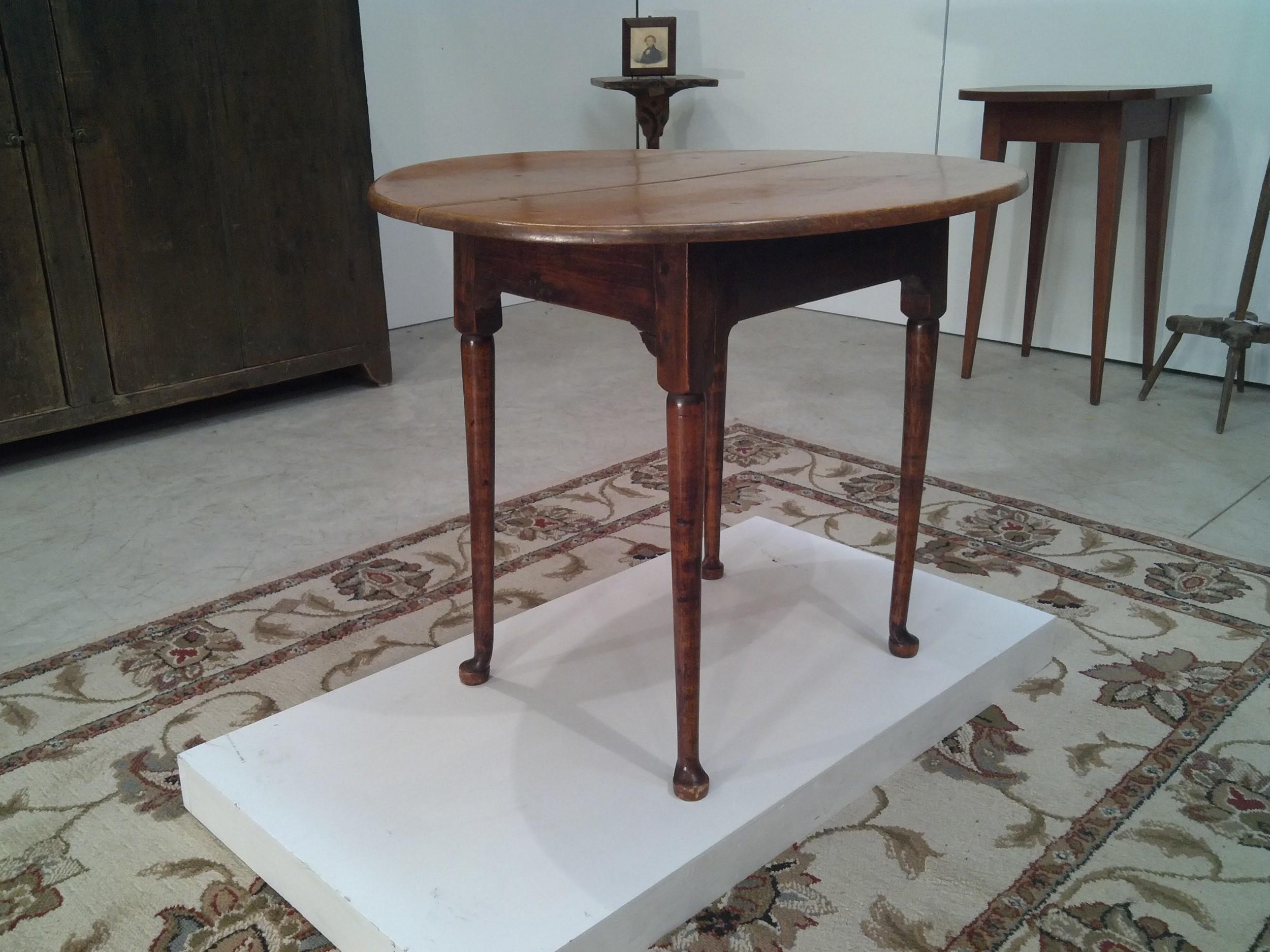 NE Ca. 1775-1780 Queen Anne tavern table
