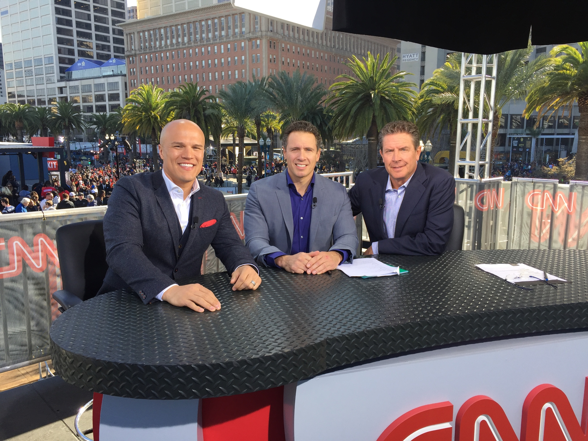 "CNN's ""Kickoff by the Bay"" for Super Bowl 50"