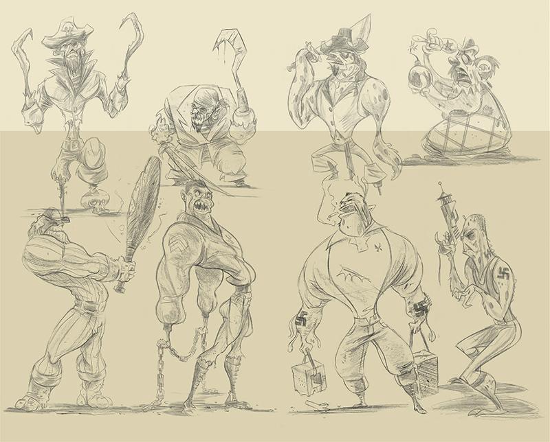 Sketchbook Spread