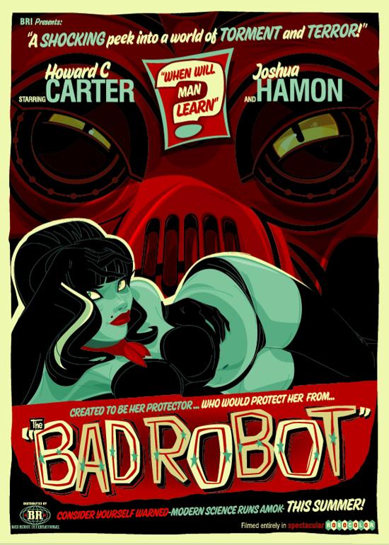 Bad Robot Movie Poster