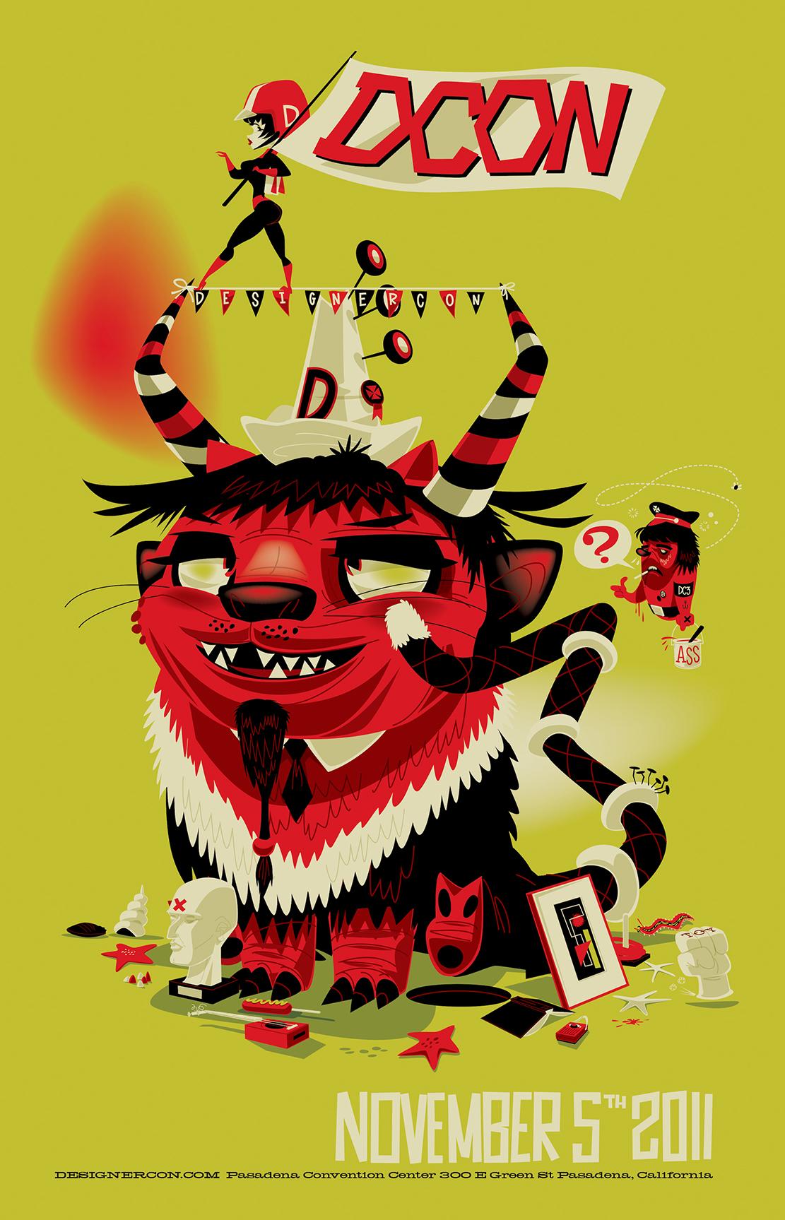 Designer Con Poster