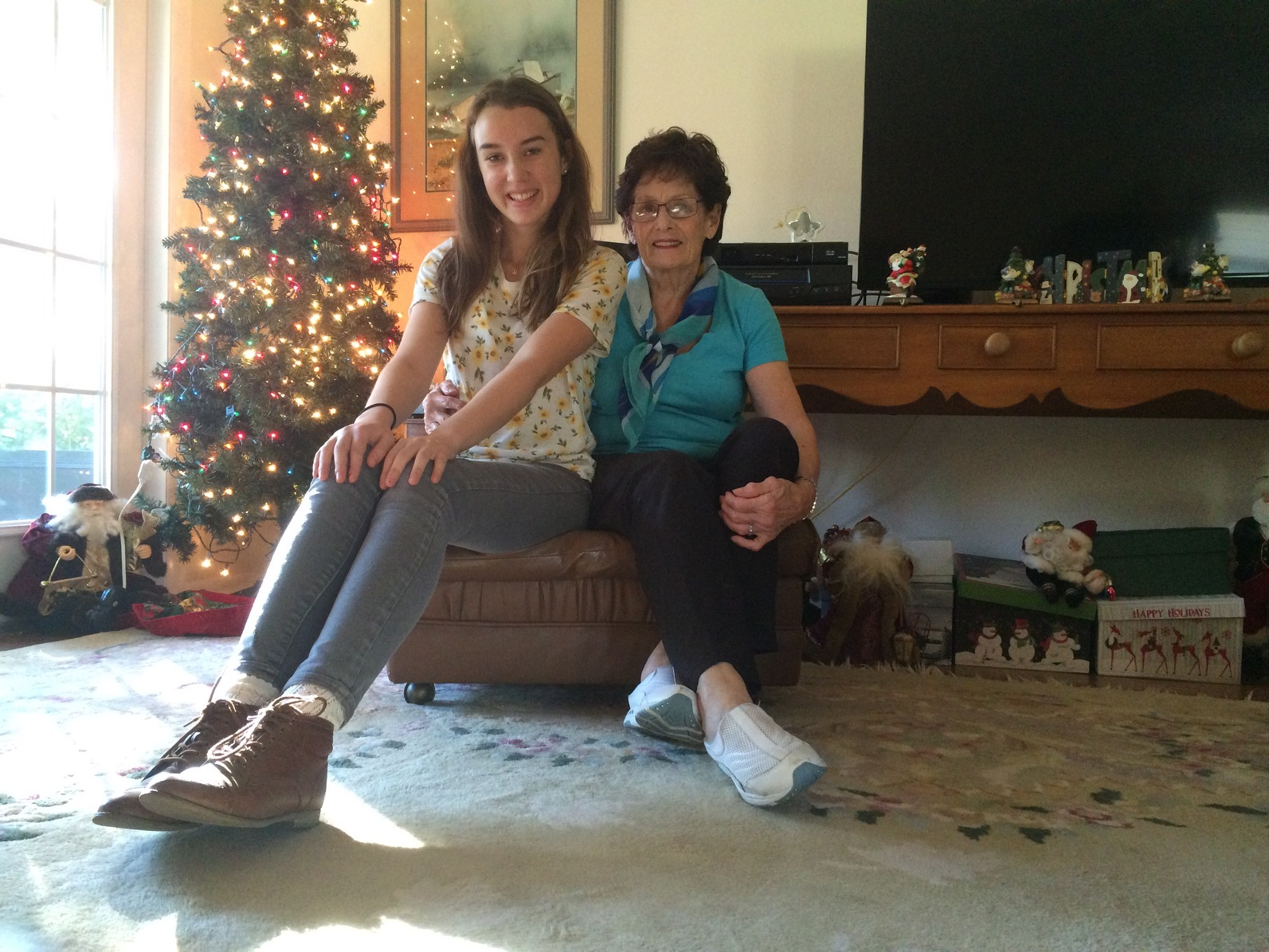 """Heartwarming Holidays shared by two of KAETA's """"Project Storytime"""" participants."""