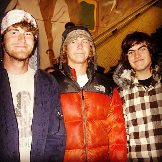 three amigos, 2006. Pablo smile.