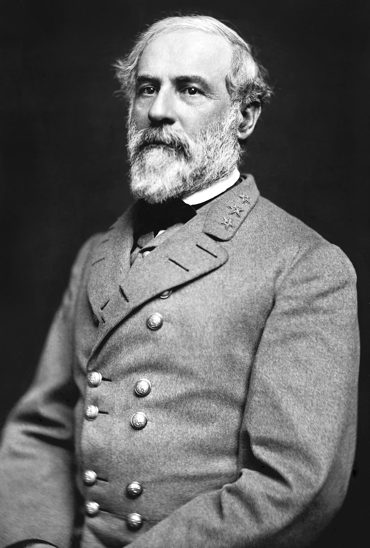 Organic Change - Robert E. Lee, Commander of the Confederate States ArmyBorn: January 19, 1807, Stratford Hall, Stratford, VADied: October 12, 1870, Lexington, VA