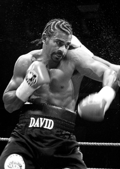 David Haye claims he will 'never go back' to eating animal products for ethical reasons.