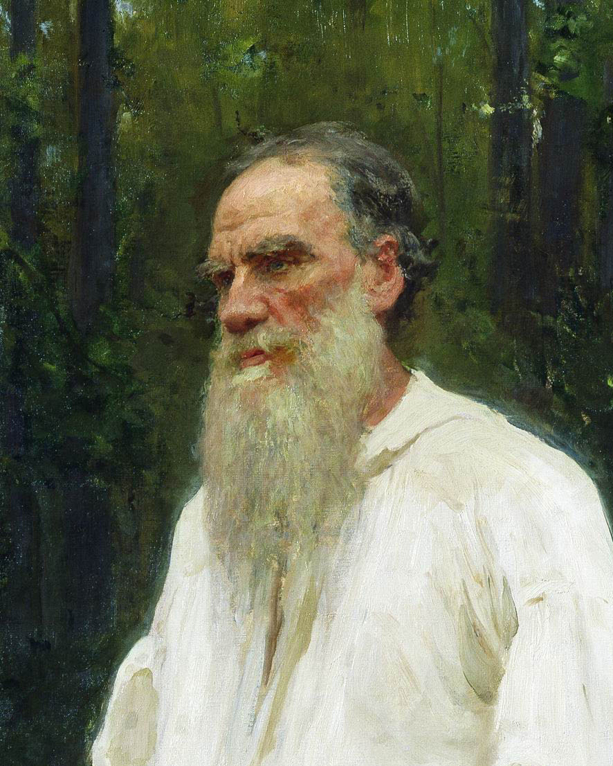 Leo Tolstoy had some awesome ideas, and an even more awesome beard