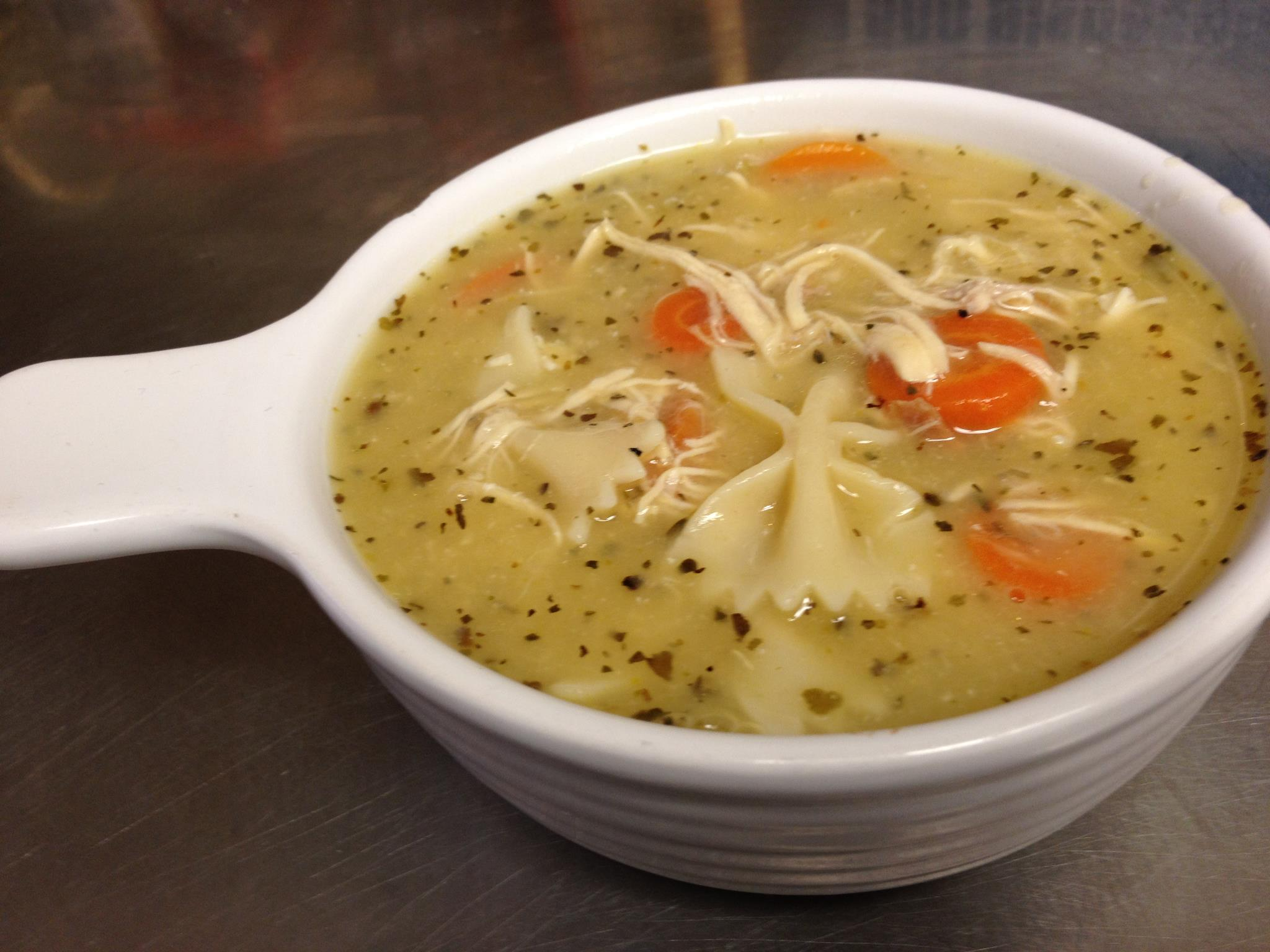 Chicken Noodle Soup   Perfect for a chilly day, a rainy day or a feelin'down day.  CLICK HERE FOR THE RECIPE