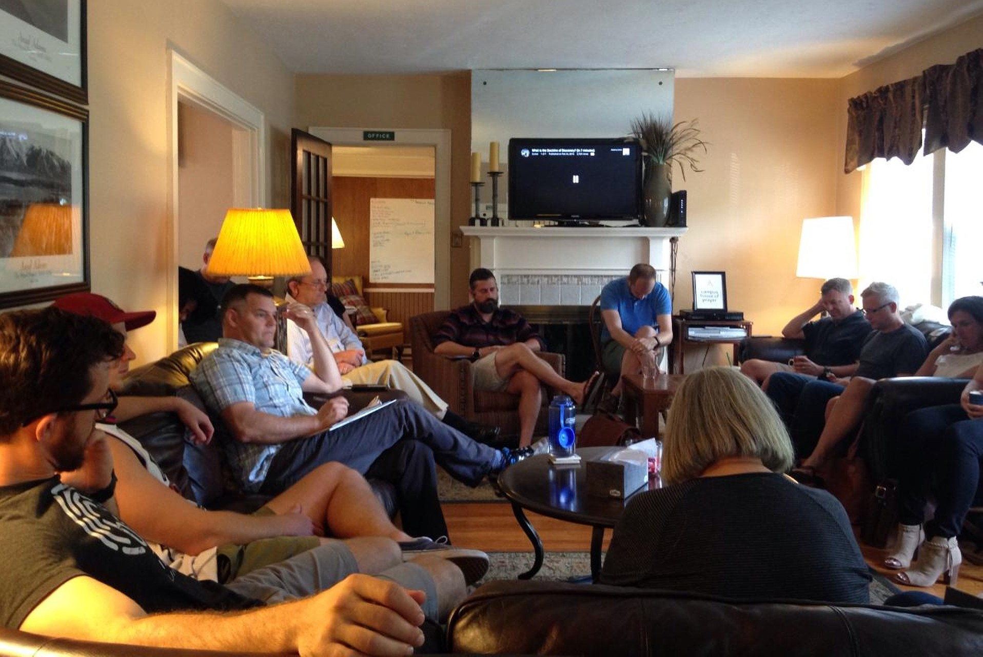Convene - We convene ministry leaders and affinity groups. Events like our weekly Leader's Connect fosters trust across denominational lines, deepens our relationships, and creates a common desire to impact the communities we serve.Another way we convene is through affinity groups, like Military Christian Fellowship, that gathers student veterans and ROTC cadets twice a month at the CHOP to fellowship and encourage one another in their Christian faith.