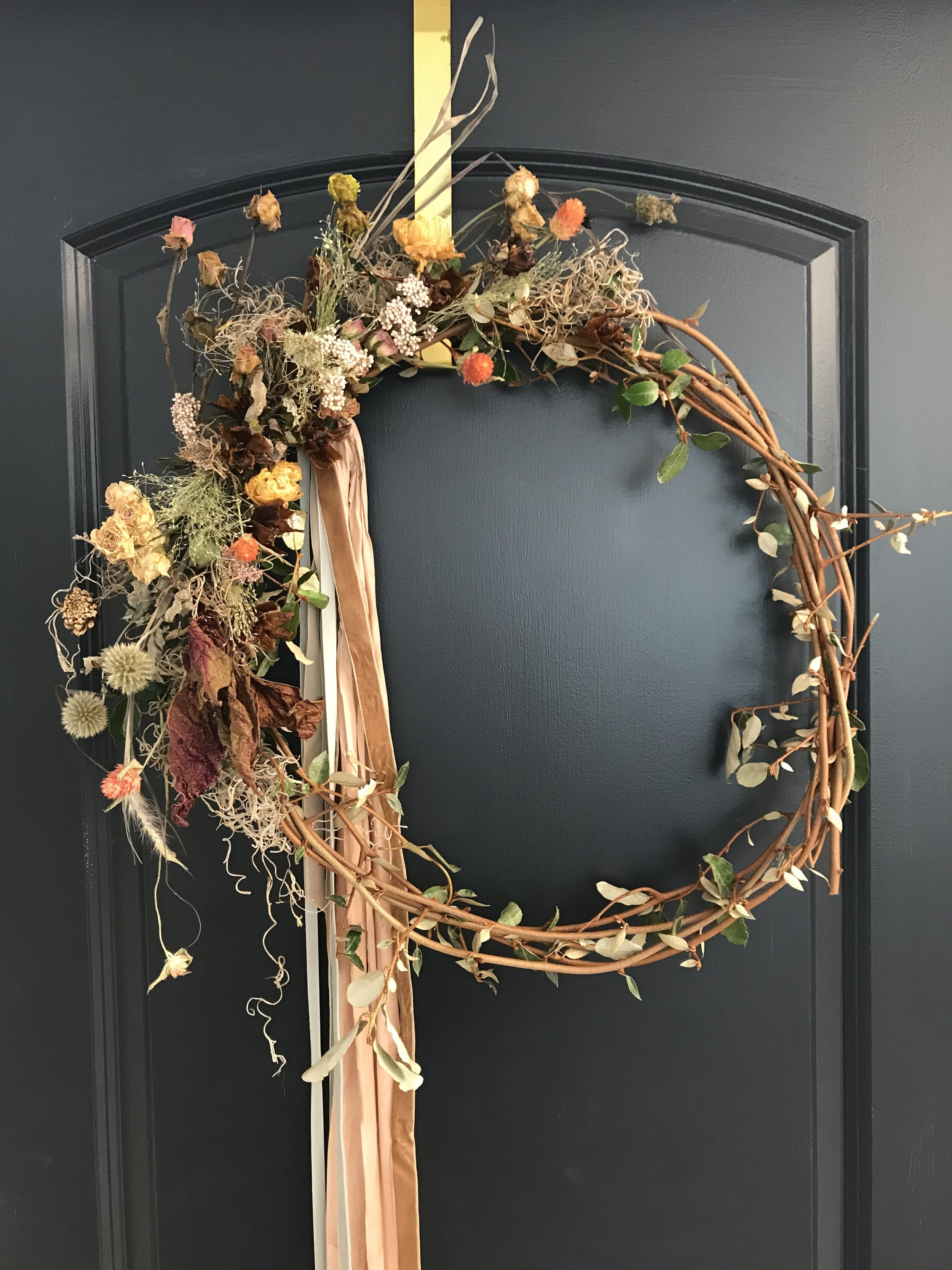The new way to preserve your bouquet. Email  me  if you want a little decor for your front door!