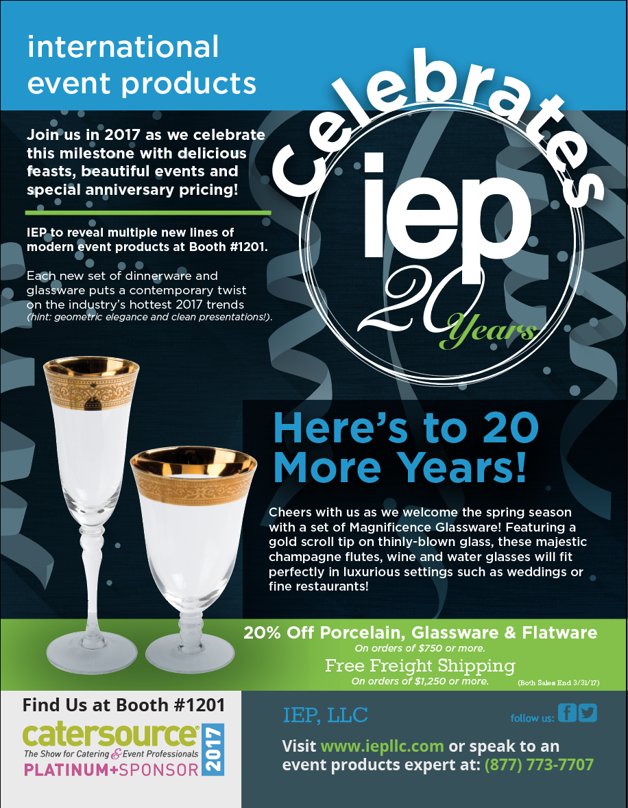 IEP Catersource Print Ad