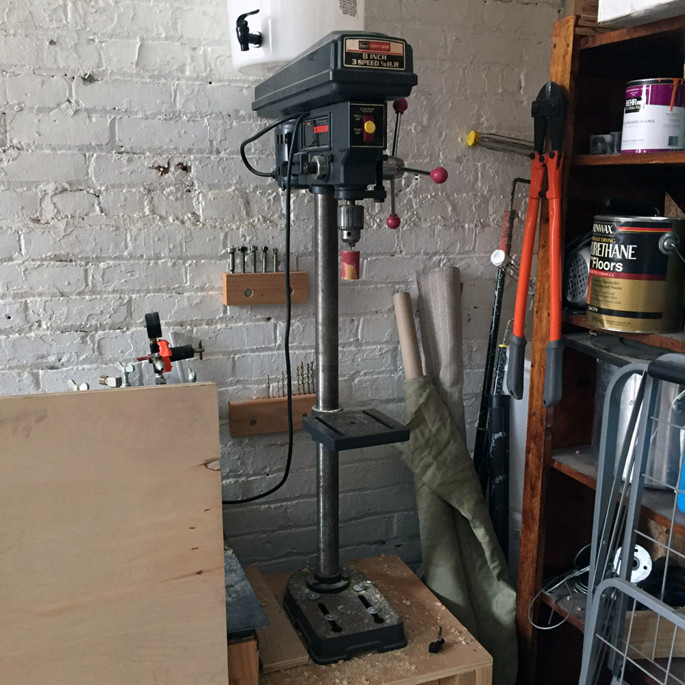 SOLD - Craftsman Drill Press - 8 in / 3 Speed Craftsman