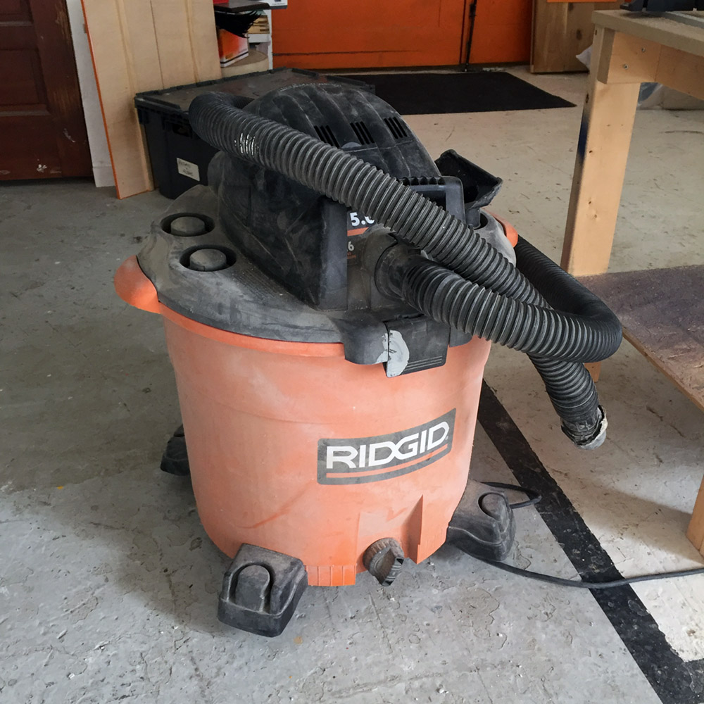 SOLD - Ridgid Shop Vac - Ridgid 16 Gallon / 5.0 HP