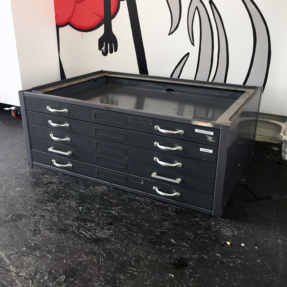 $250 - Metal Flat File - 41 in x 28 in 15 in