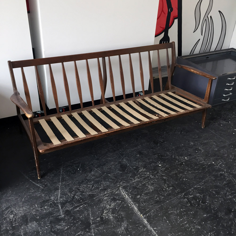 $100 - Baumritter Couch Frame - Frame without cushions