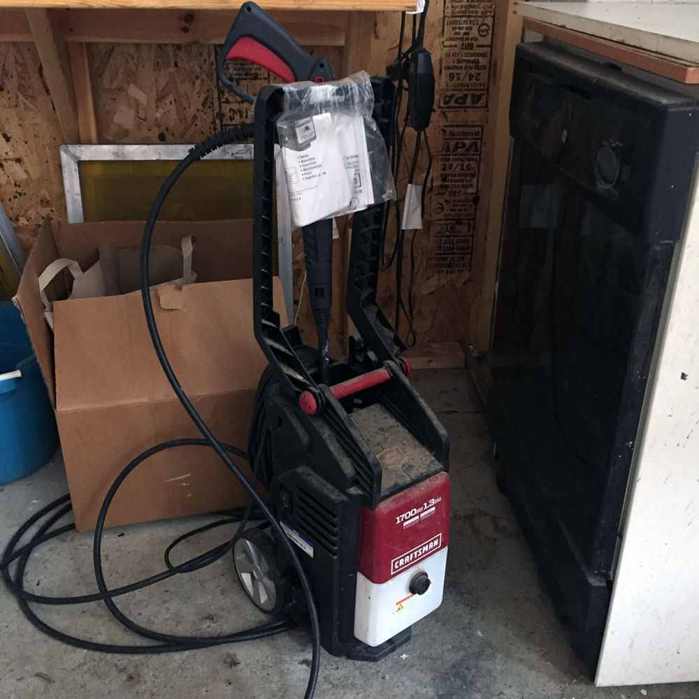 SOLD - Power Washer - Craftsman 1700 Max PSI