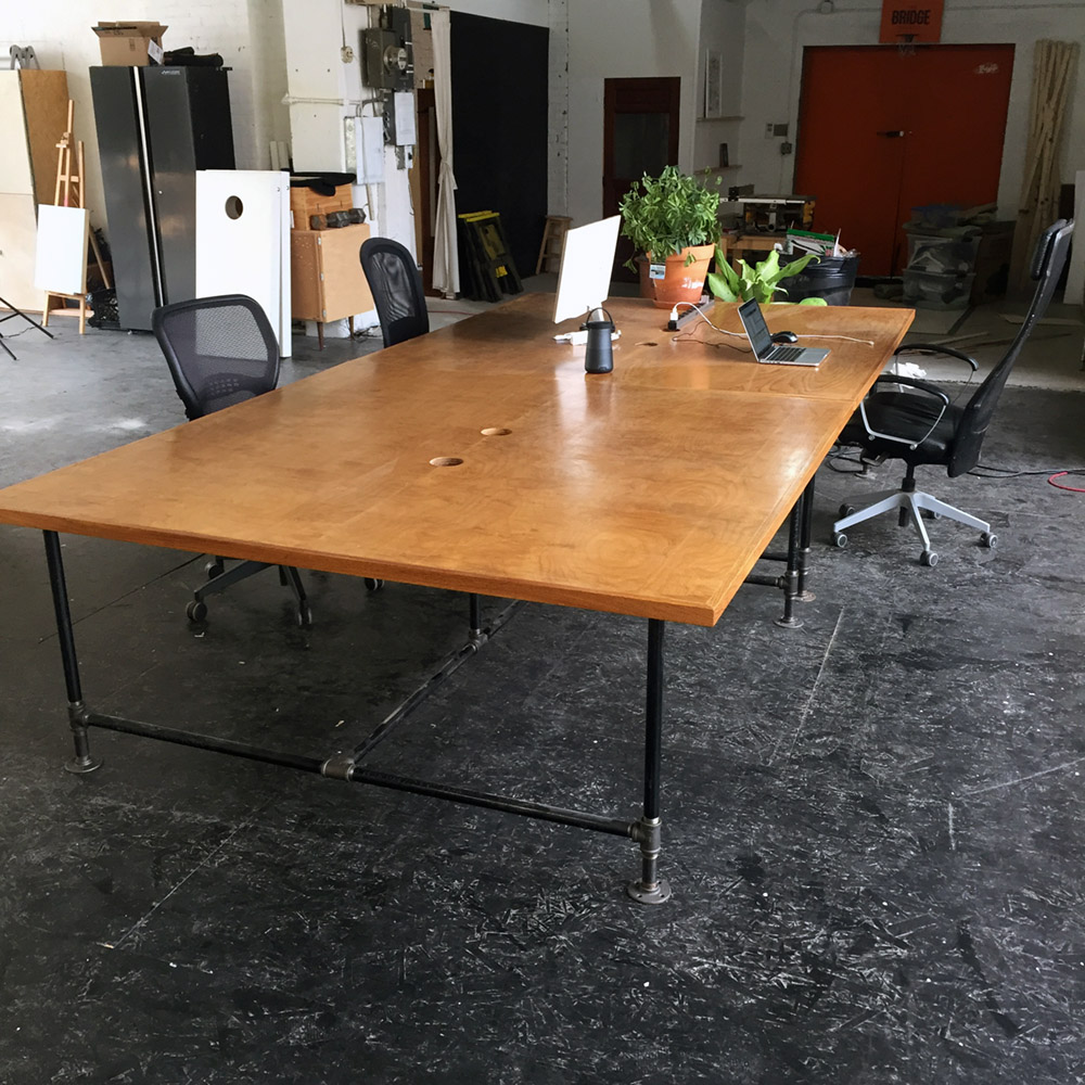 $200 - Conference Table x2 - 2 - 6 ft x 6ft Conference Work Tables ($400 for both)