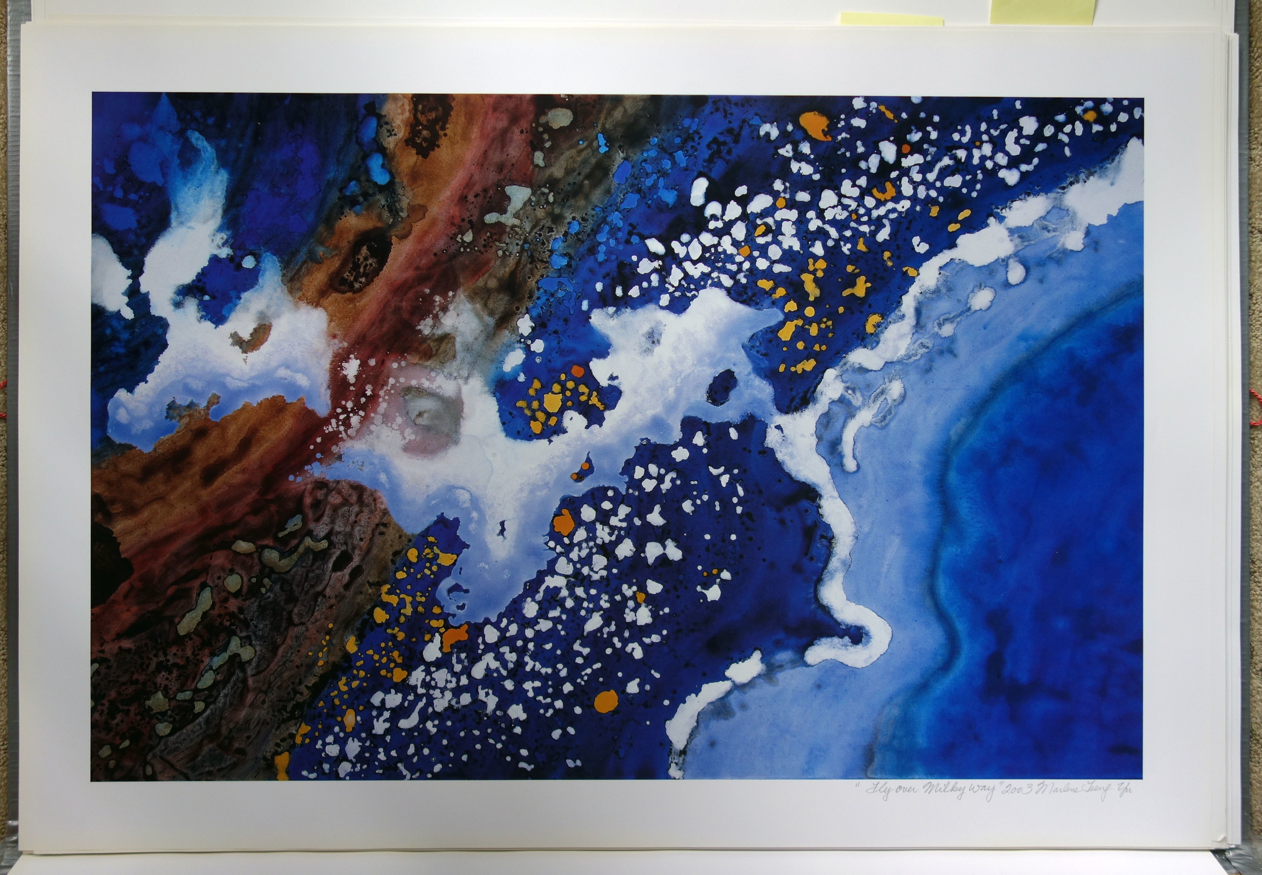 """Fly Over Milky Way"" 2003"
