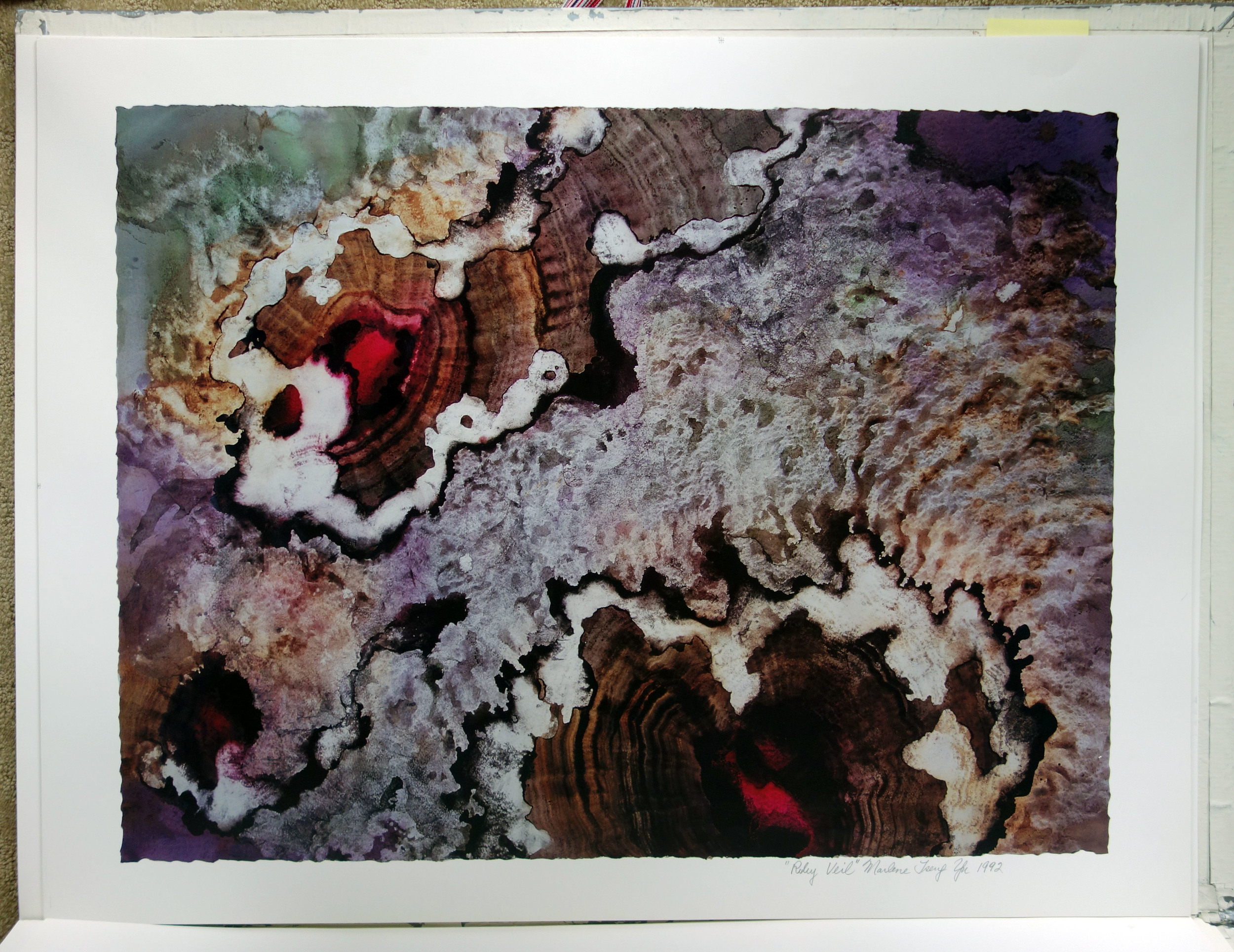 """Ruby Veil"" 1992"