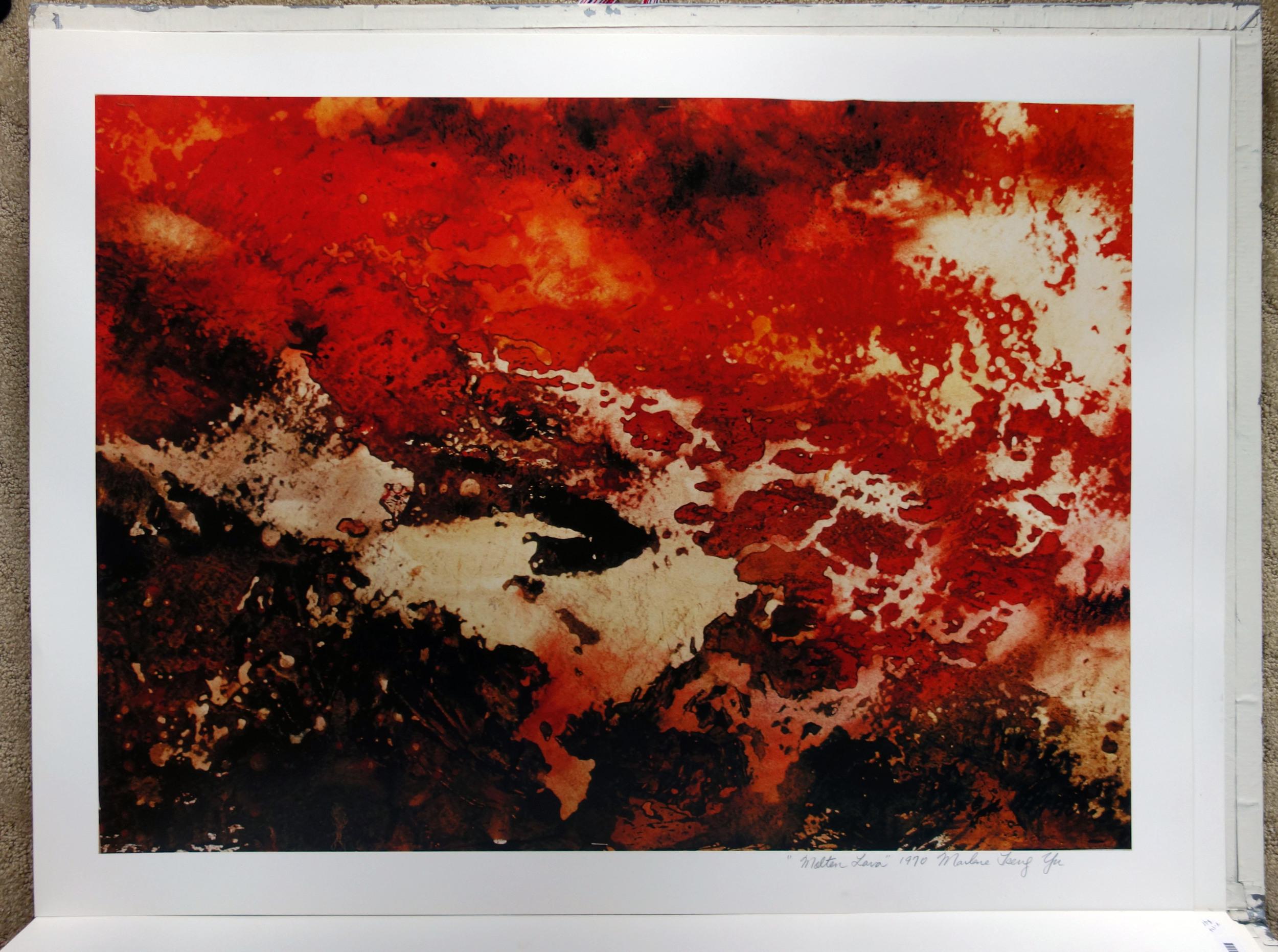 """""""Molten Lava"""" 1970"""