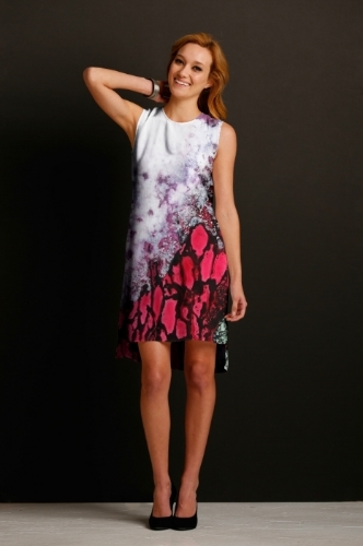Forest Fire Silk Dress - Front.jpg