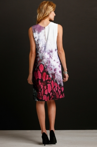 Forest Fire Silk Dress - Back.jpg