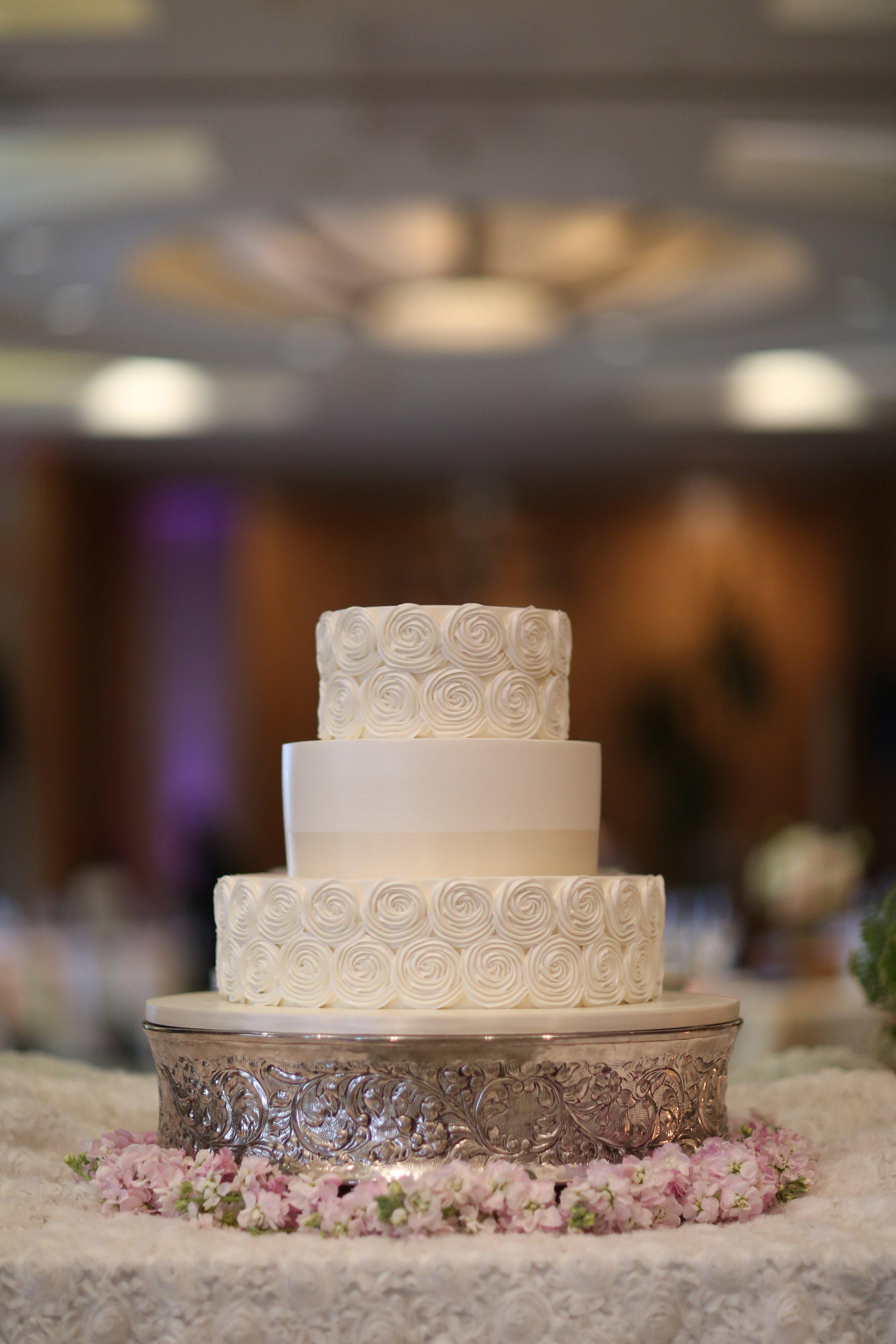 Beautiful cake from Rossmoor Pastries