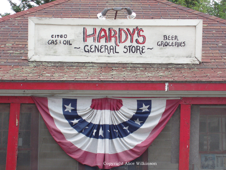 Hardy's store