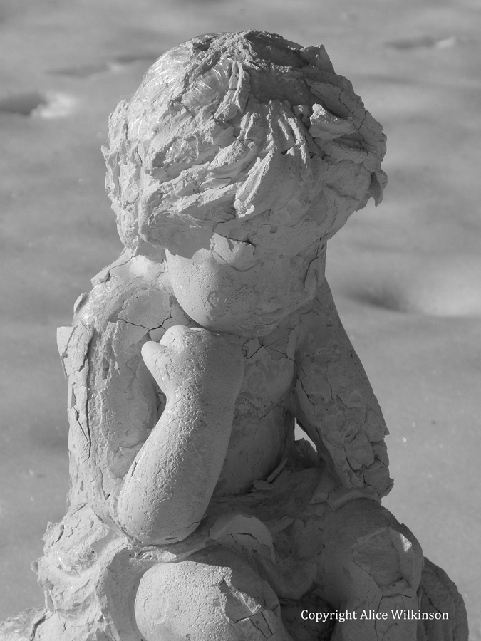 angel, thinking