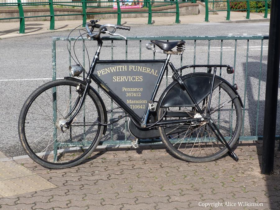 funeral bike