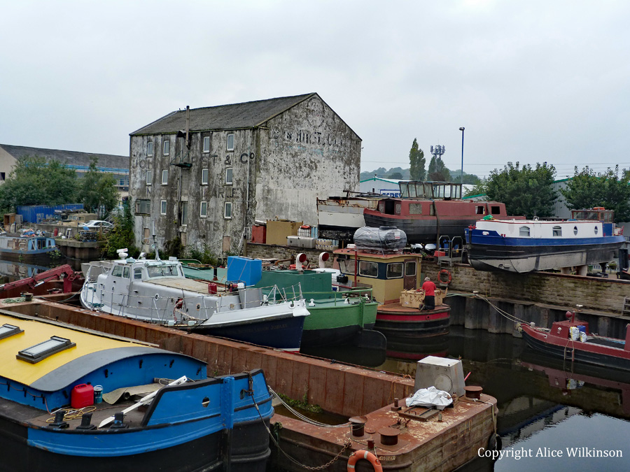 boats and canal, Wakefield