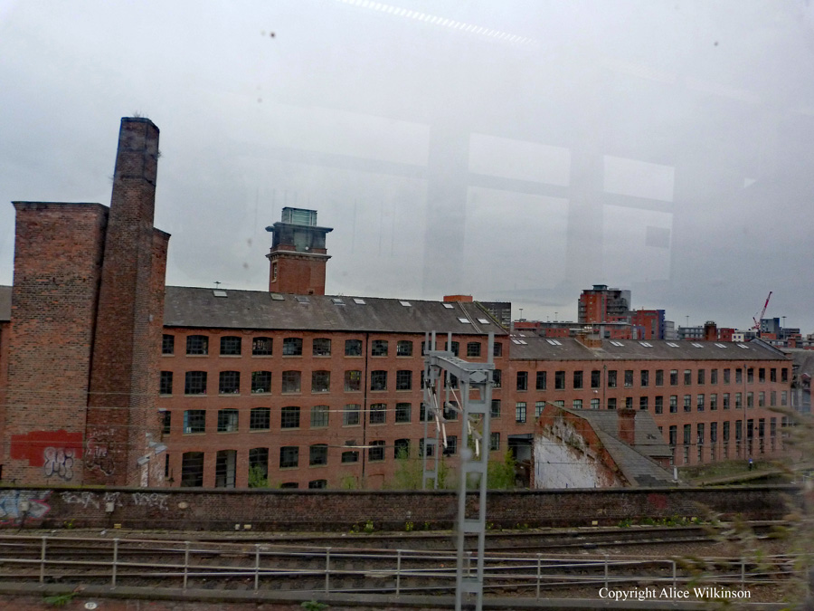 Manchester from a tram