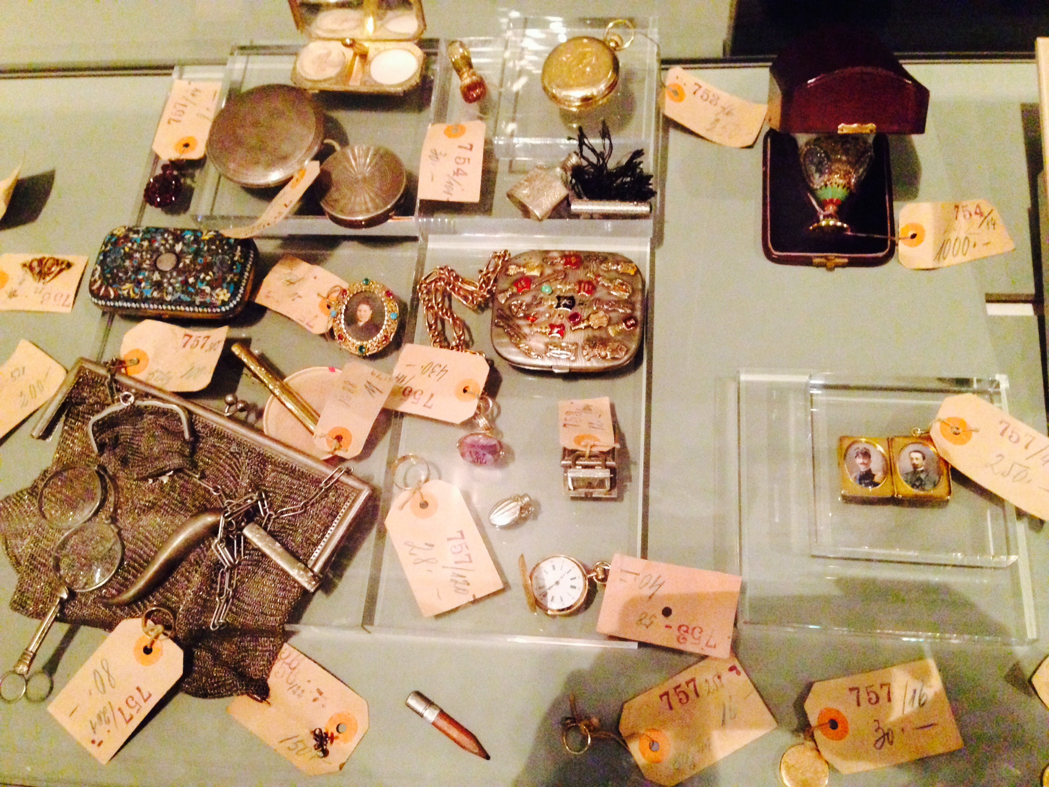 Personal Items of the Families Affected by the Holocaust