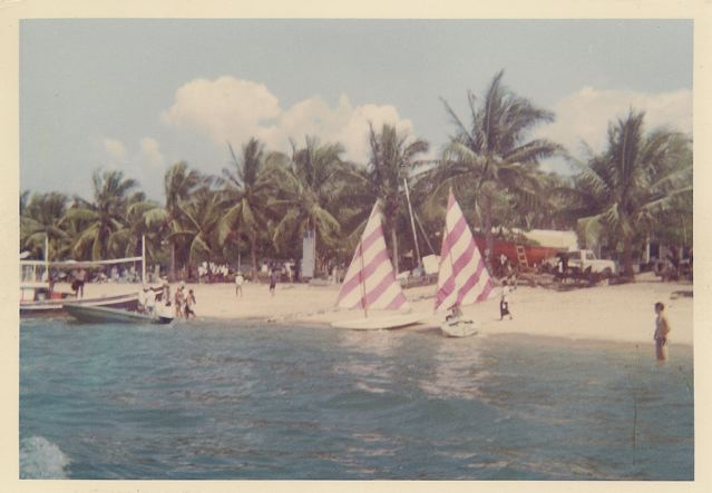 Back in the 1980's, Pattaya Beach was a sleepy little beach town.