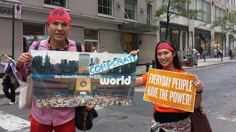 Power to the people! Be proactive about the environment.