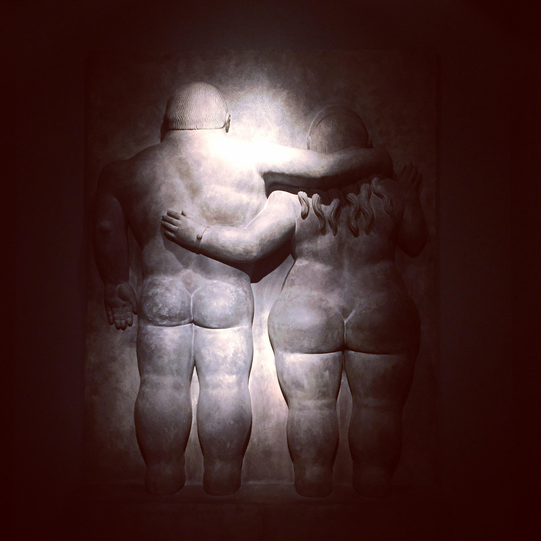Adam & Eve by Fernando Botero