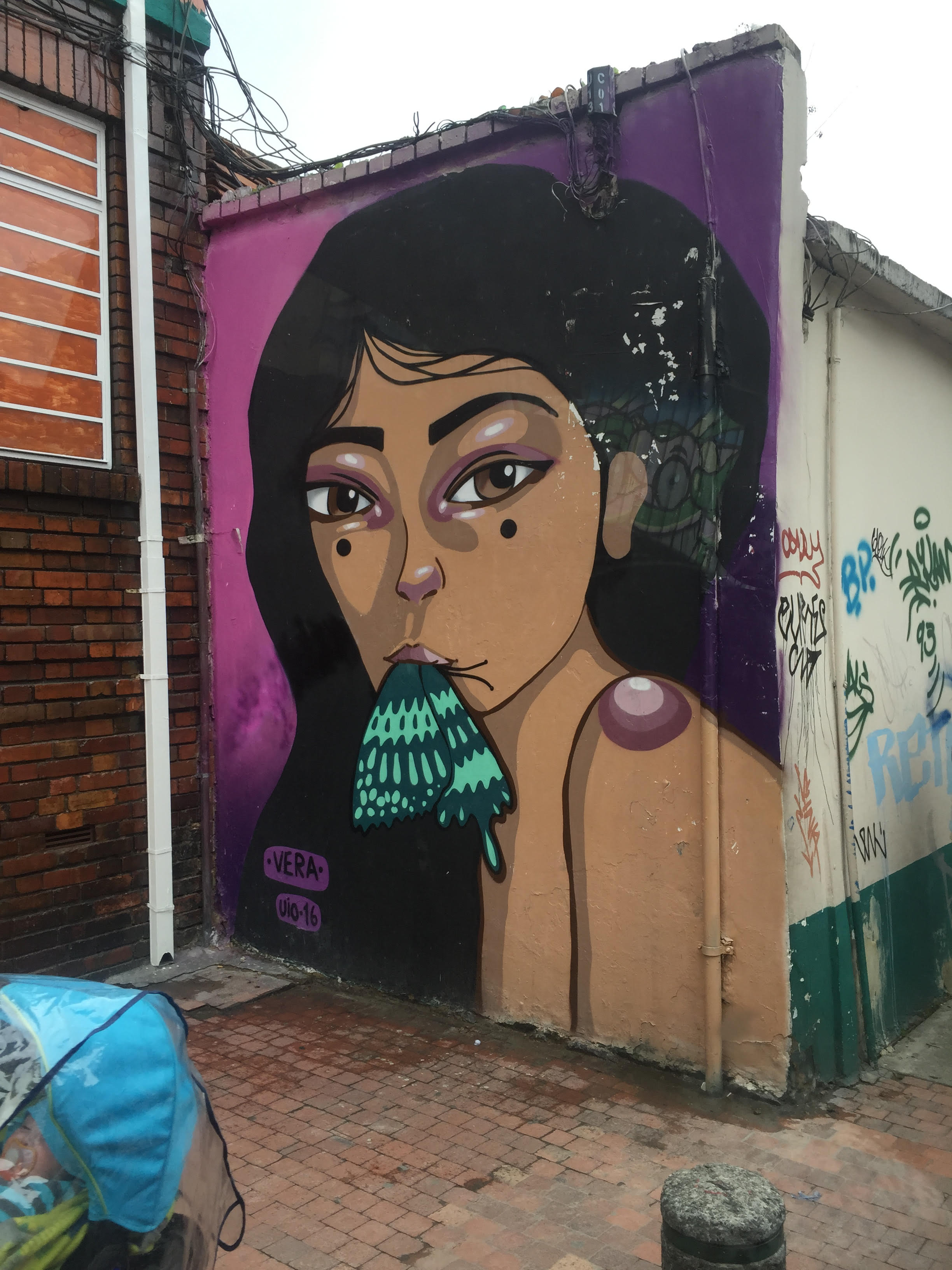 Just a sampling of the beautiful and creative street art across Bogota.