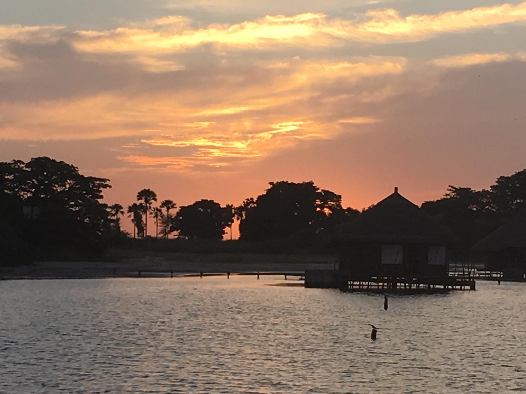 Such a beautiful sunset...