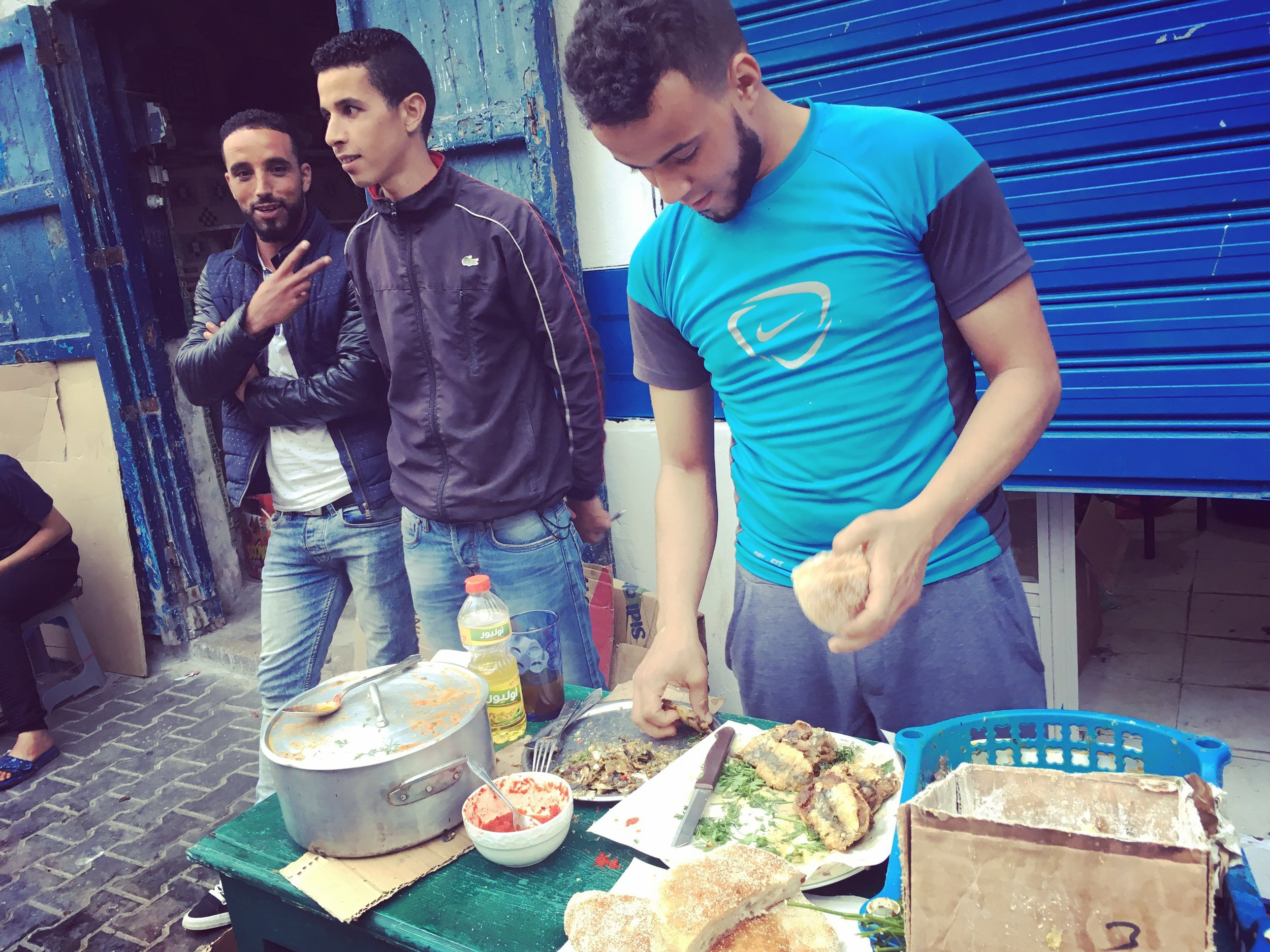 Street Food in Essaouira