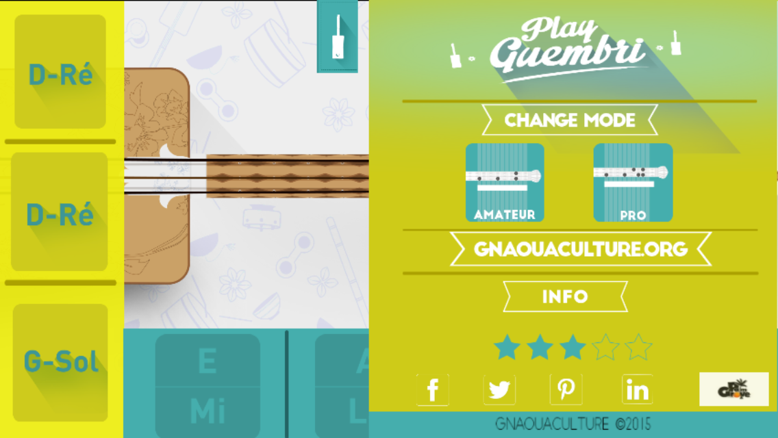 Learn how to play this three string bass-like instrument on your smartphone!