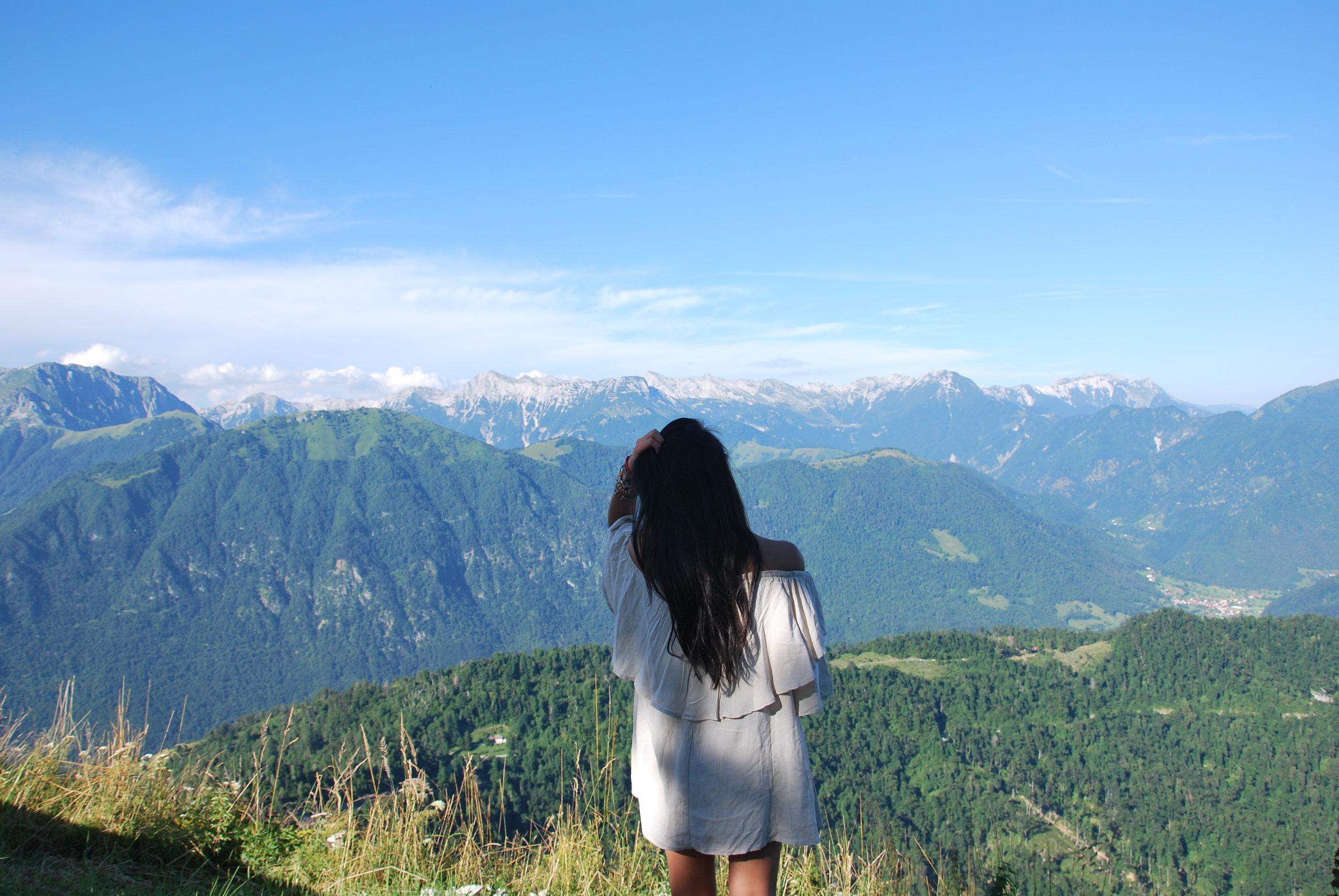 The Julian Alps