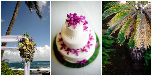 wedding cake in hawaii