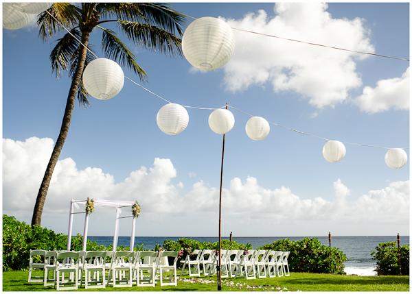 wedding ceremony in poipu hawaii