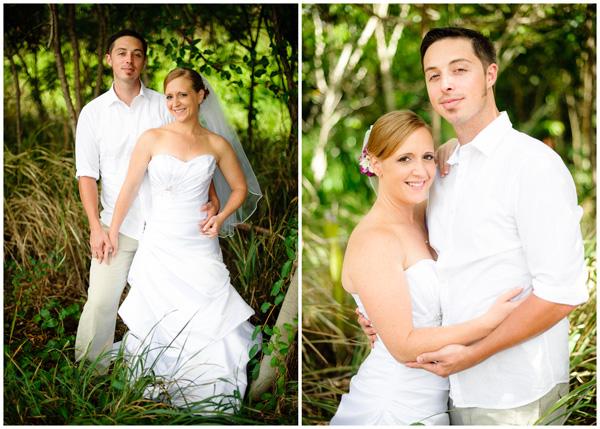 natural wedding portraits in hawaii