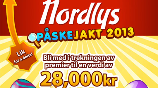 Nordlys - Ester hunt (Facebook contest)
