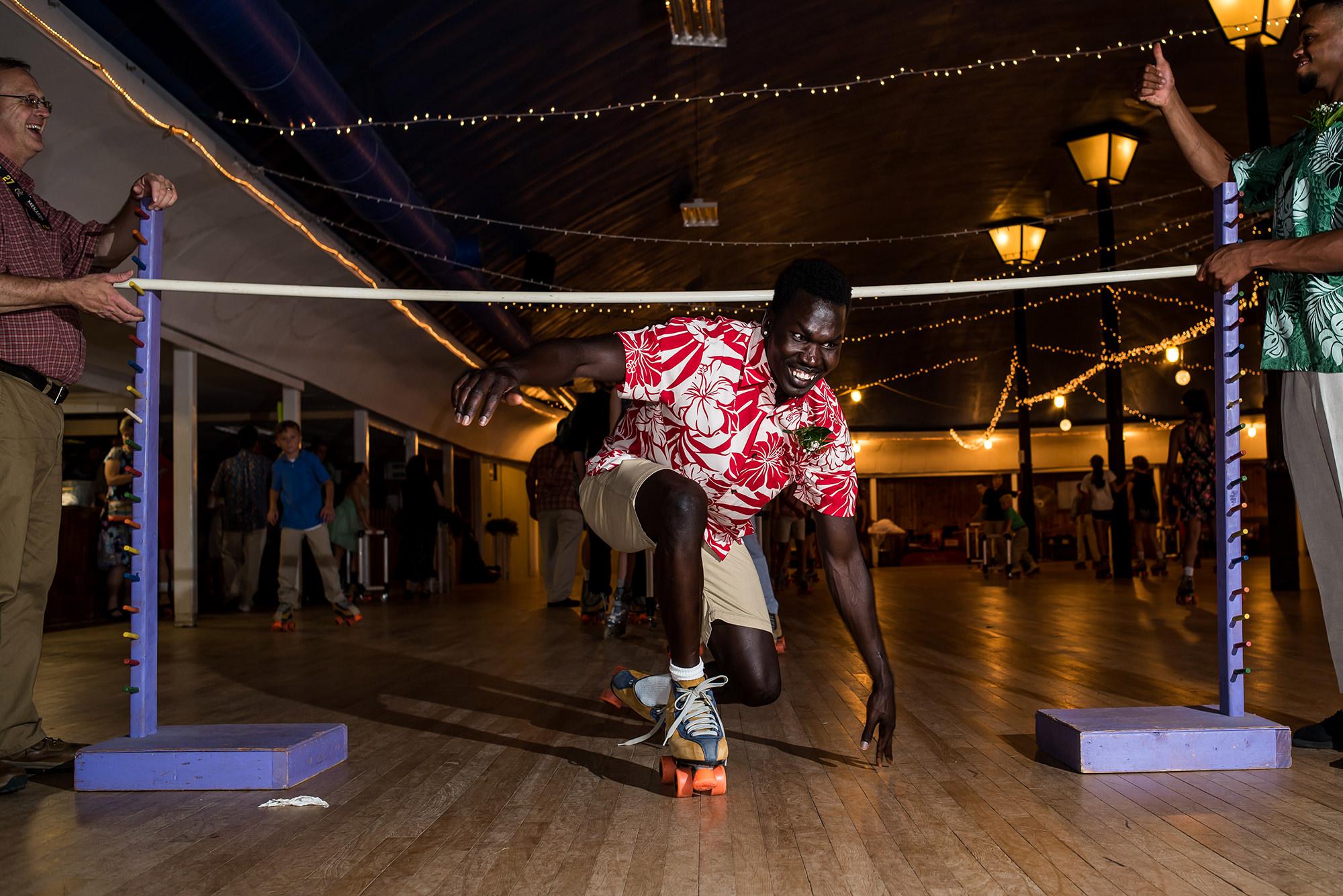 roller skating at wedding in iowa.jpg