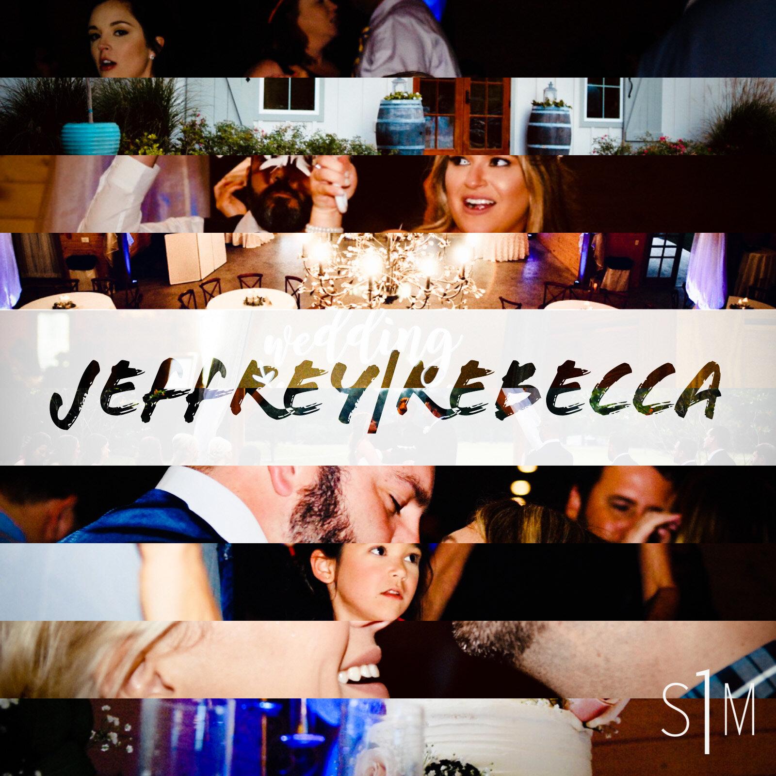 - Apple Music Playlist of Jeffrey and Rebecca's Wedding