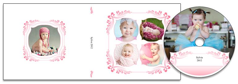 Floral Embellish (Pink) Matching Templates