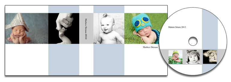 Photo Band (Blue) Matching Templates