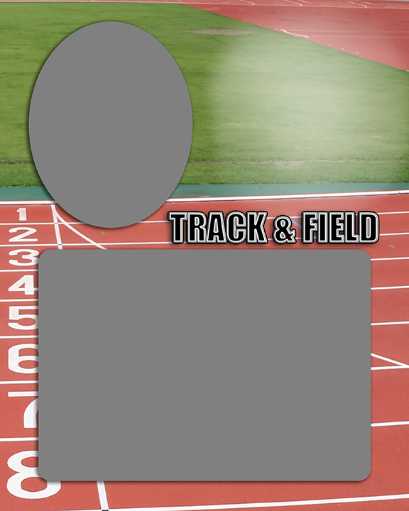 Sports Baseball Specific Track and Field Memory Mate Sports Template